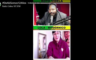 Modérnico regresa con show digital y nueva canción