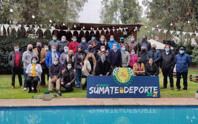 «Súmate al Deporte» continúa haciendo realidad los sueños de muchos deportistas de Colina.